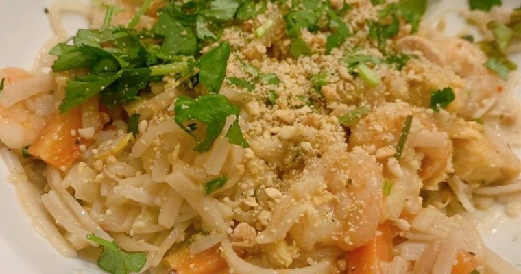 King Prawn and Tofu Pad Thai