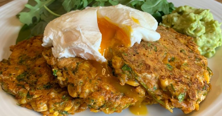 Smoky Sweetcorn Fritters